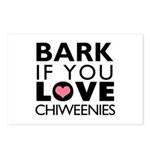 Bark If You Love Chiweenies Postcards (Package of
