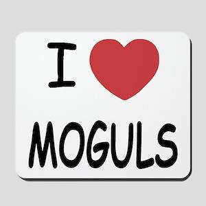 I heart moguls Mousepad