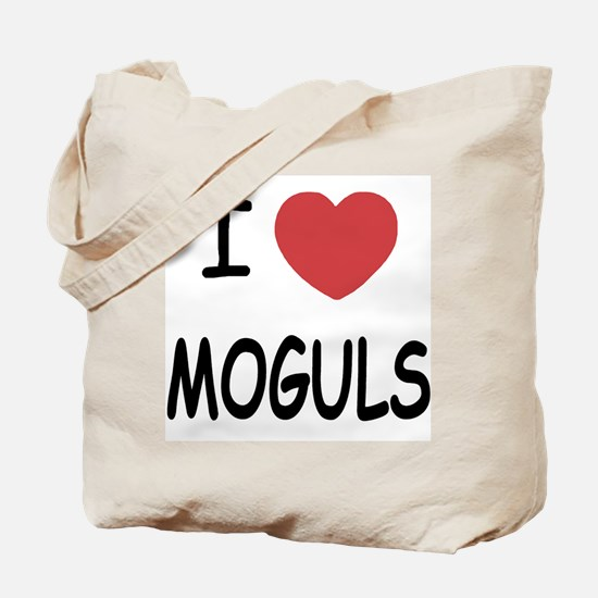 I heart moguls Tote Bag