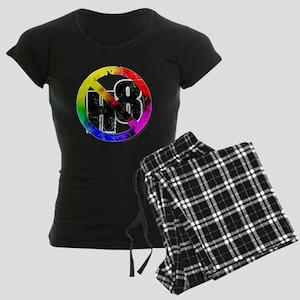 No Hate - < NO H8 >+ Women's Dark Pajamas