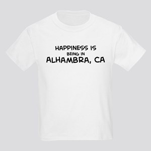 Happiness is Alhambra Kids T-Shirt