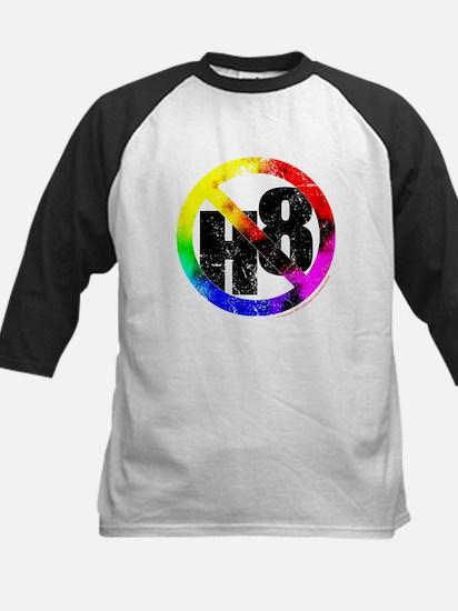 No Hate - < NO H8 >+ Kids Baseball Jersey