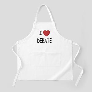 I heart debate Apron