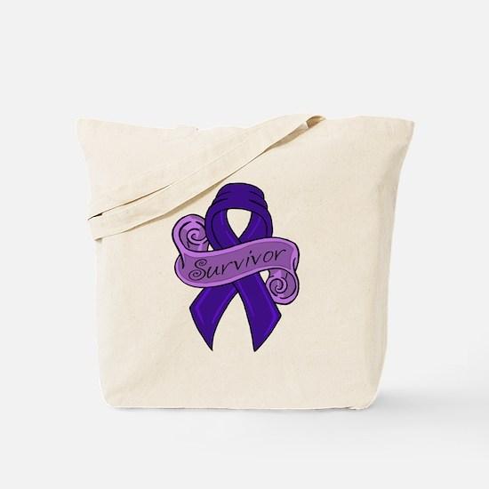 Proud Colon Survivor Tote Bag