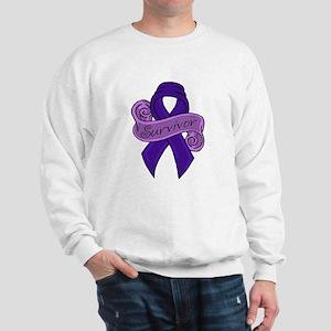 Proud Colon Survivor Sweatshirt