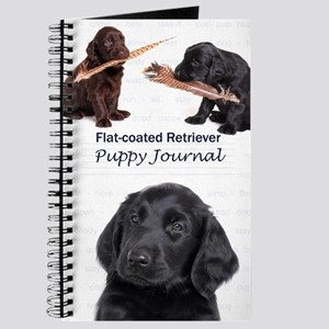 Flat-coated Retriever Puppy Journal