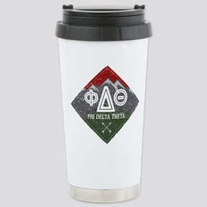 Phi Delta Theta D 16 oz Stainless Steel Travel Mug