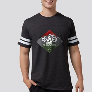 Phi Delta Theta Diamond Mou Mens Football T-Shirts