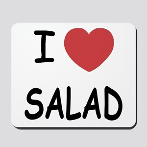 I heart salad Mousepad