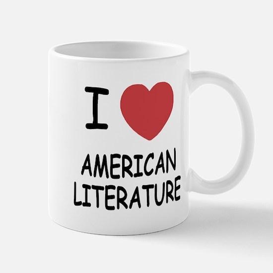 I heart american literature Mug