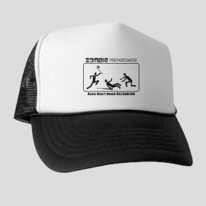 Zombie Prepared AXES Trucker Hat