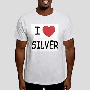 I heart silver Light T-Shirt