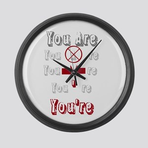 New Section Large Wall Clock