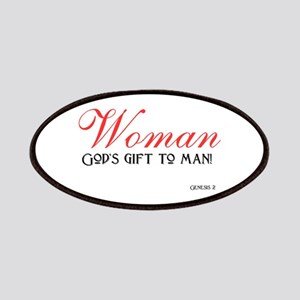 Woman... God's gift to men Patches