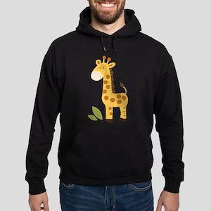 Cute Giraffe Hoodie (dark)
