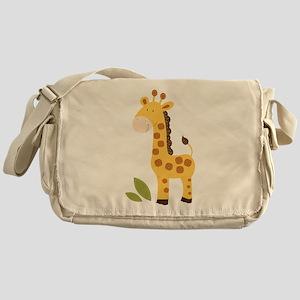 Cute Giraffe Messenger Bag
