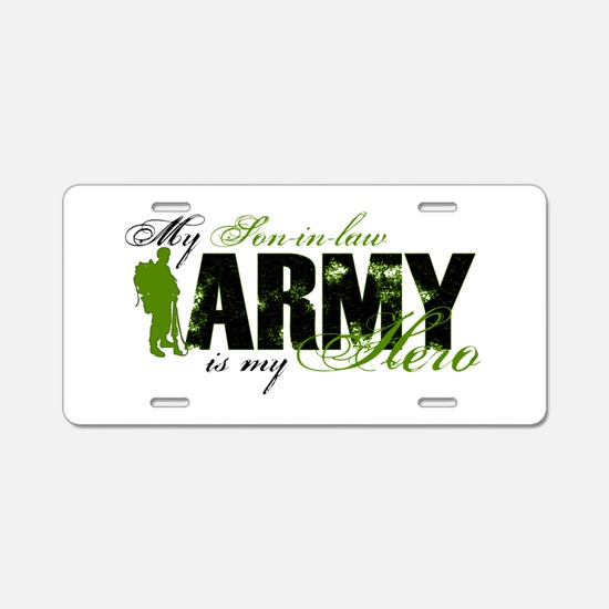 Son-in-law Hero3 - ARMY Aluminum License Plate