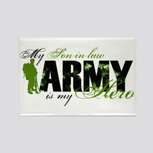 Son-in-law Hero3 - ARMY Rectangle Magnet