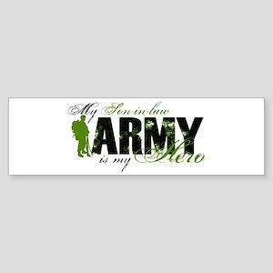 Son-in-law Hero3 - ARMY Sticker (Bumper)