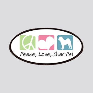 Peace, Love, Shar-Pei Patches
