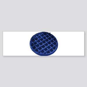 Blue Waffle Sticker (Bumper)