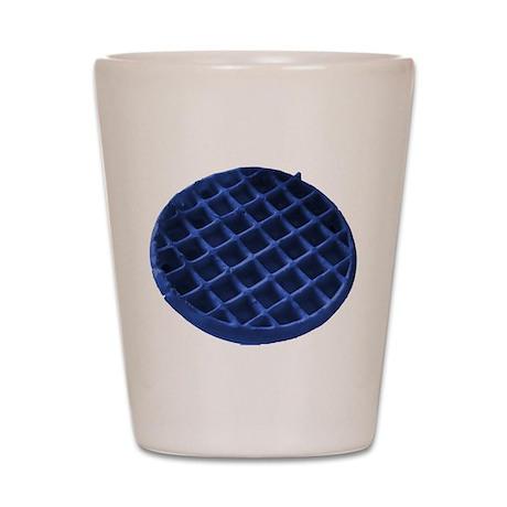 Blue Waffle Shot Glass