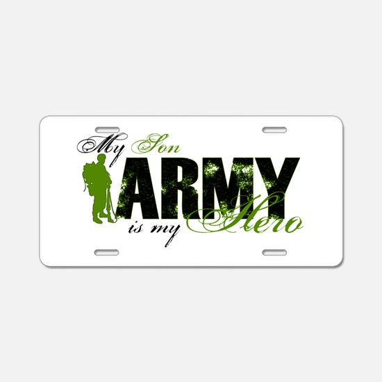 Son Hero3 - ARMY Aluminum License Plate