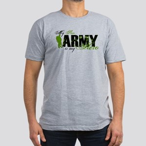 Son Hero3 - ARMY Men's Fitted T-Shirt (dark)