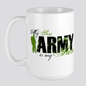 Son Hero3 - ARMY Large Mug