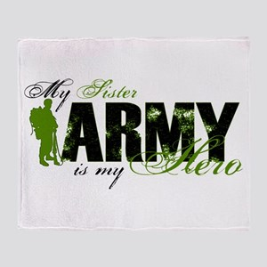 Sister Hero3 - ARMY Throw Blanket
