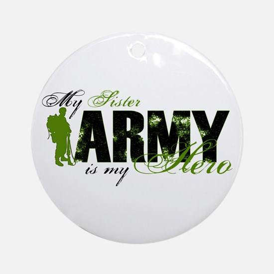 Sister Hero3 - ARMY Ornament (Round)