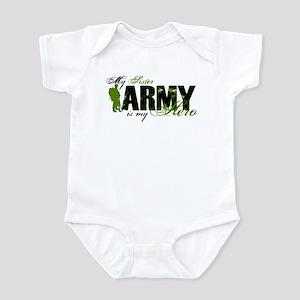 Sister Hero3 - ARMY Infant Bodysuit