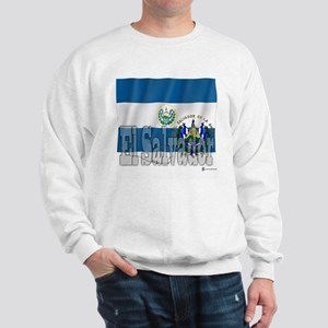 Silky Flag of El Salvador Sweatshirt