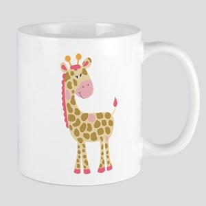 Jungle Jill Pink Giraffe Mug