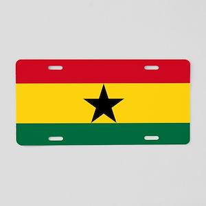 Flag of Ghana Aluminum License Plate
