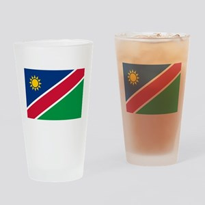 Flag of Namibia Drinking Glass