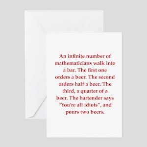 Math jokes greeting cards cafepress funny math joke greeting card m4hsunfo