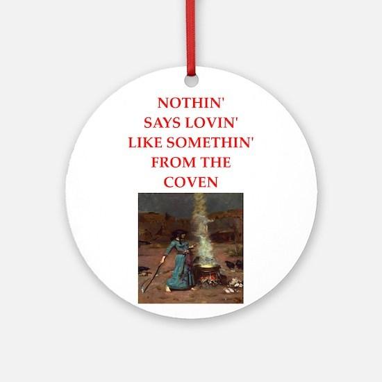 coven Round Ornament