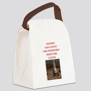 coven Canvas Lunch Bag