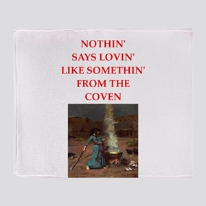 coven Throw Blanket