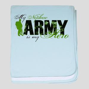 Nephew Hero3 - ARMY baby blanket