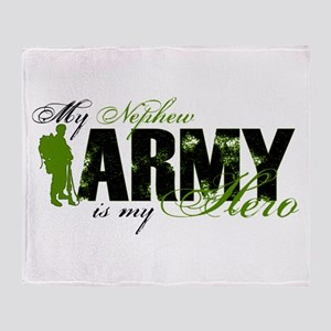 Nephew Hero3 - ARMY Throw Blanket