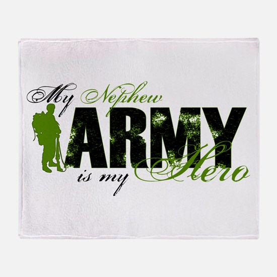 Nephew Hero3 - ARMY Throw Blanket