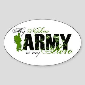 Nephew Hero3 - ARMY Sticker (Oval)