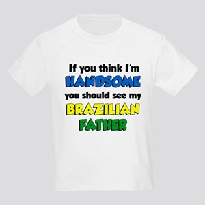 Handsome Brazilian Father Kids Light T-Shirt