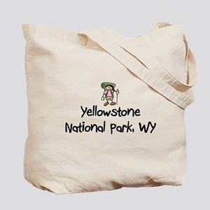 Hike Yellowstone (Girl) Tote Bag