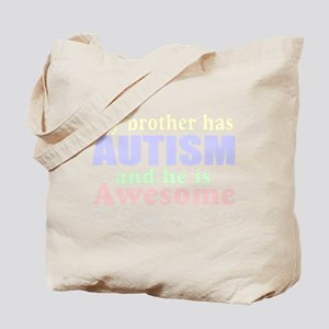 Awesom autism brother Tote Bag