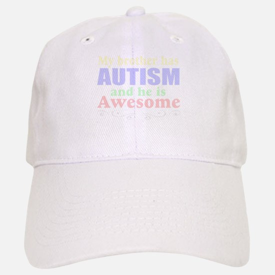 Awesom autism brother Baseball Baseball Cap