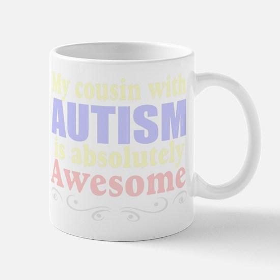 Awesome autism cousin Mug
