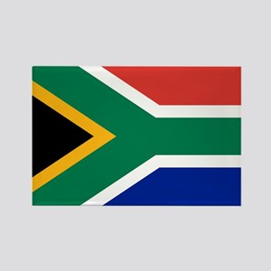Flag South Africa Rectangle Magnet